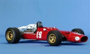 miniature de voiture Ferrari 312 V12 F.1 GP Espagne 68 (1:12e) MG Model Plus Quirao idées cadeaux