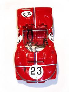 miniature de voiture Ferrari 350 P4 CAN-AM 1967 Laguna Seca #23 Amon MG Model Plus Quirao idées cadeaux