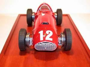 miniature de voiture Ferrari 375 F.1 GP Grande Bretagne 51 (1:12e) MG Model Plus Quirao idées cadeaux