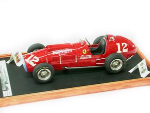 miniature de voiture Ferrari 375 Indy 500 miles Indianapolis #12 Ascari 1952 MG Model Plus Quirao idées cadeaux