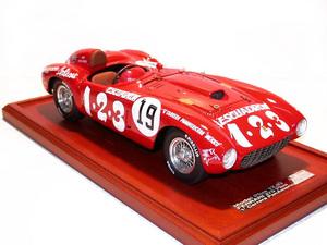 miniature de voiture Ferrari 375 PLUS Panamericana 54 (1:12e) MG Model Plus Quirao idées cadeaux