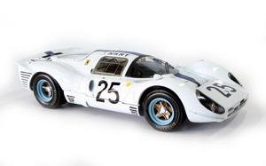miniature de voiture Ferrari 412 P 24h du Mans 1967 (Nart) # 25 MG Model Plus Quirao idées cadeaux