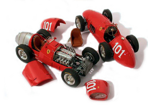 miniature de voiture Ferrari 500 F2 GP Allemagne 52 Ascari (KIT au 1/12e) MG Model Plus Quirao idées cadeaux