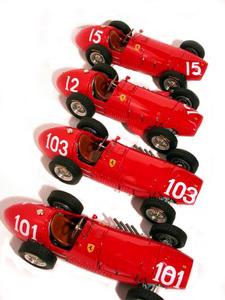 miniature de voiture Ferrari 500 F2 GP Belgique 52 (KIT au 1/12e) MG Model Plus Quirao idées cadeaux
