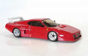 miniature de voiture Ferrari 512 BB LM Road Car MG Model Plus Quirao idées cadeaux