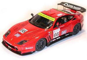 miniature de voiture Ferrari 550 GT 24 h Mans 2004 Prodrive team # 66 (KIT) MG Model Plus Quirao idées cadeaux