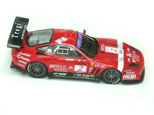 miniature de voiture Ferrari 550 GTS 24 h Spa Francorchamps #2 (KIT) MG Model Plus Quirao idées cadeaux