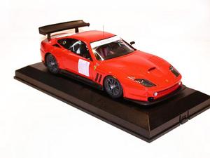 miniature de voiture Ferrari 550 GT Prodrive Road Car 2001 (KIT) MG Model Plus Quirao idées cadeaux