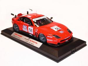 miniature de voiture Ferrari 550 GT Prodrive Fia 2002 (KIT) MG Model Plus Quirao idées cadeaux