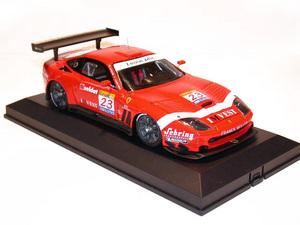miniature de voiture Ferrari 550 GT BMS Fia 2002 #23 (KIT) MG Model Plus Quirao idées cadeaux