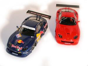 miniature de voiture Ferrari 550 Dart Racing 2002 Red Bull # 32 (KIT) MG Model Plus Quirao idées cadeaux