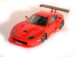 miniature de voiture Ferrari 550 Works Fiorano test (KIT) MG Model Plus Quirao idées cadeaux