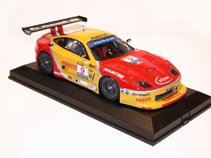miniature de voiture Ferrari 550 GT Fia 2003 (KIT) MG Model Plus Quirao idées cadeaux