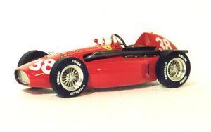 miniature de voiture Ferrari 553 F.1 GP Espagne 1954 #38 MG Model Plus Quirao idées cadeaux
