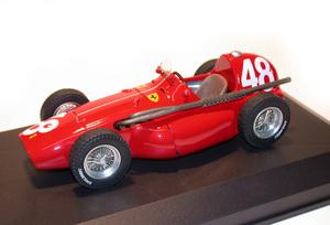 miniature de voiture Ferrari 555 F.1 GP Monaco 1955 #48 Taruffi MG Model Plus Quirao idées cadeaux