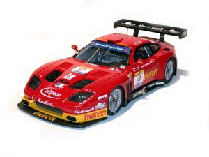 miniature de voiture Ferrari 575 JMB Racing 2003 (KIT) MG Model Plus Quirao idées cadeaux