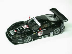 miniature de voiture Ferrari 575 GT JMB Racing Fia 2004 (KIT) MG Model Plus Quirao idées cadeaux