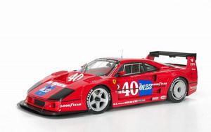 miniature de voiture Ferrari F 40 GTE 1990 IMSA Mosport MG Model Plus Quirao idées cadeaux
