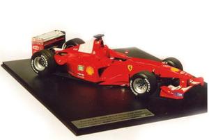 miniature de voiture Ferrari F2000 F.1 funnel version (1:12e) MG Model Plus Quirao idées cadeaux