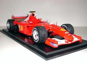miniature de voiture Ferrari F2001 F.1 GP Hongrie 2001 (1:12e) MG Model Plus Quirao idées cadeaux