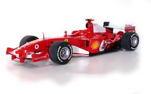 miniature de voiture Ferrari F2005 F.1 GP USA #1 Schumacher MG Model Plus Quirao idées cadeaux