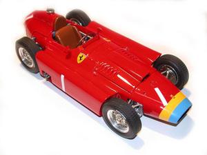 miniature de voiture Lancia D.50 F.1 GP Allemagne 56 Fangio (KIT au 1/12e) MG Model Plus Quirao idées cadeaux