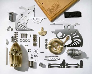 moteur Stirling Moteur à vide HB22 Fireeater-kit   Smoking Colt  Bohm Stirling Technik Quirao idées cadeaux
